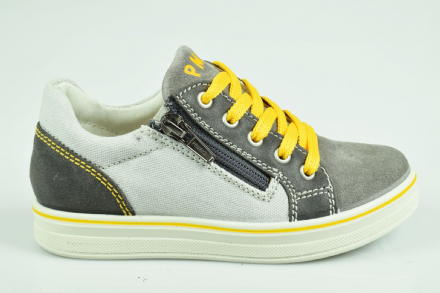 Primigi PAY Converse Style Easy-On Laces Shoes (Grey)